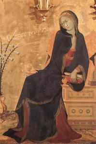 Simone Martini, 1333, Annunciation