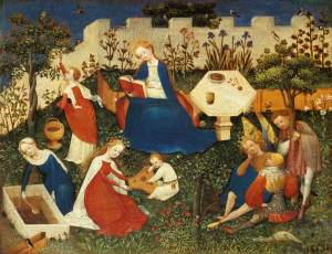 Garden, Unknown German Master, 1410