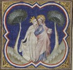 Bride and Groom (Church and Christ) Bible Historiale
