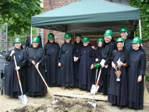 """CHS Sisters, """"Green"""" Convent Groundbreaking"""