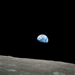 Earthrise, Christmas Eve, 1968, Apollo 8