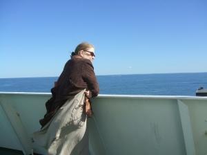 Heading to Long Island on the Bridgeport of Port Jefferson Ferry