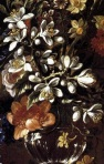 detail, Vase of Flowers, Francisco Sierra Perez, c.1690